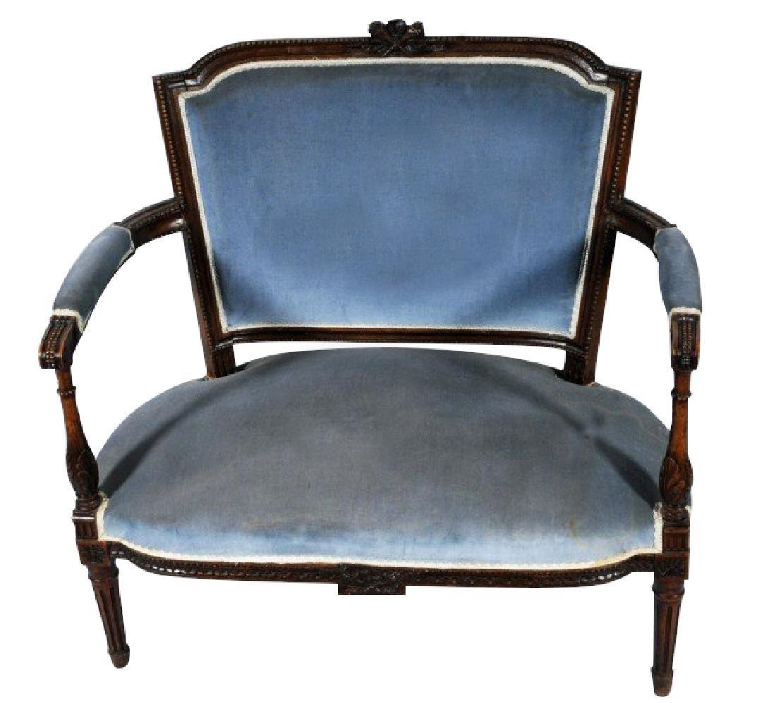 LOUIS XVI STYLE LOVE SEAT