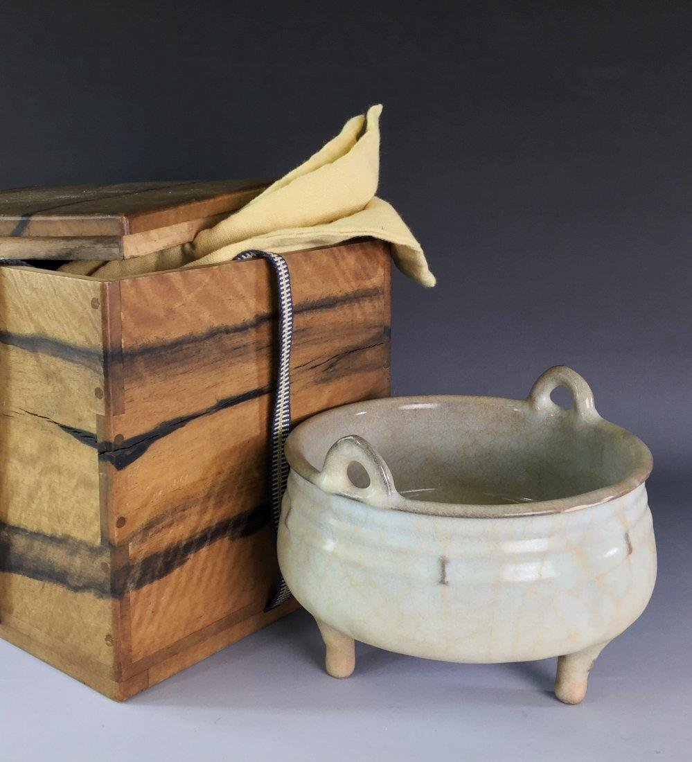 CHINESE SONG DYNASTY GUAN WARE CENSER
