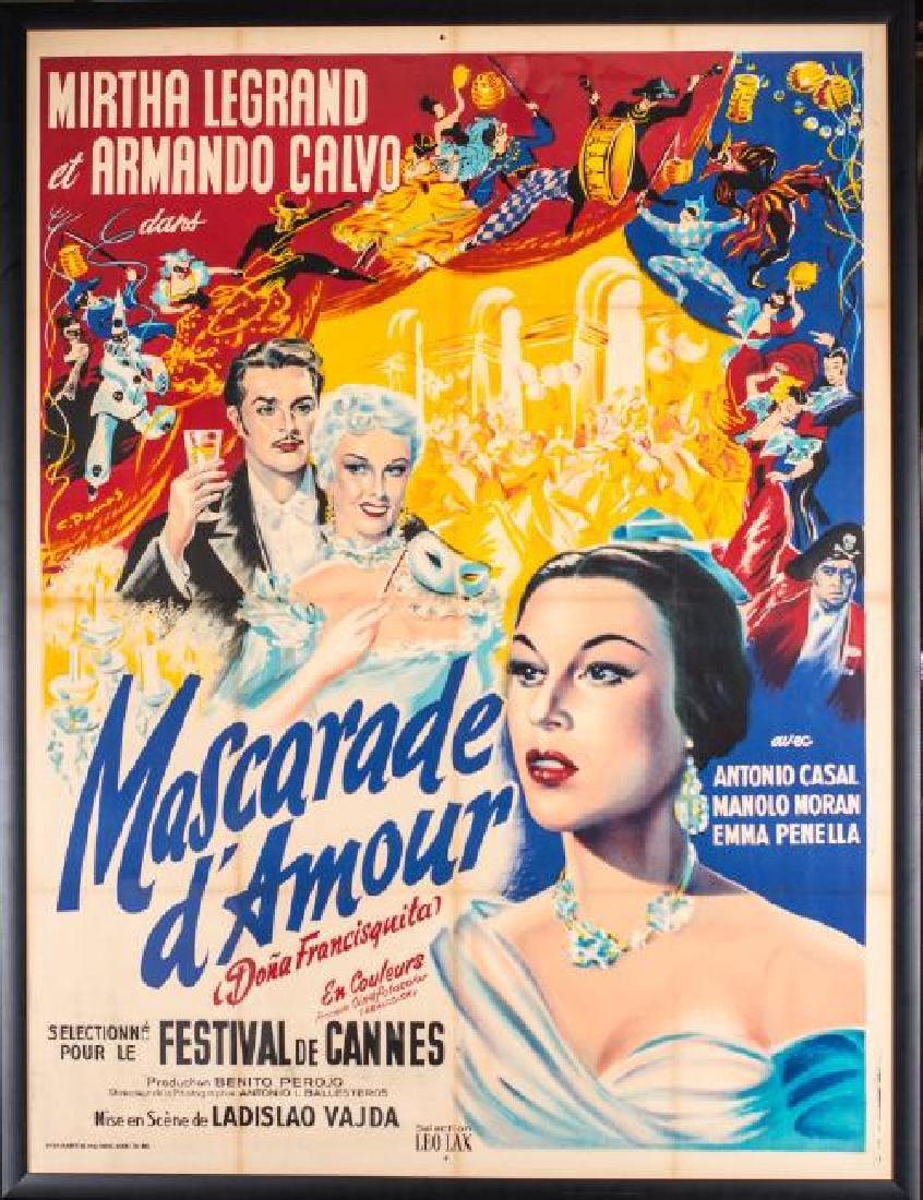 MASCARADE D'AMOUR (DONA FRANCISQUITA)
