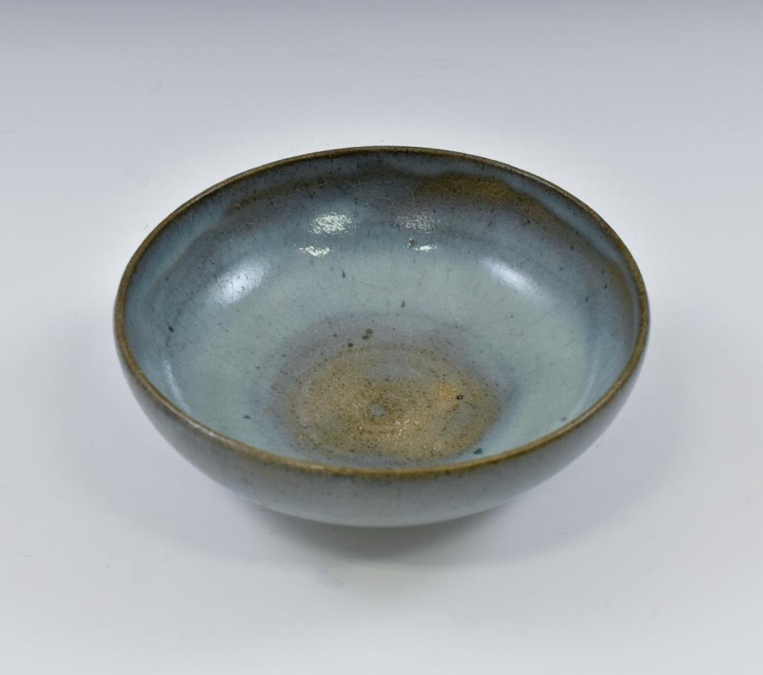 YUAN DYNASTY JUN WARE TEA BOWL - 3