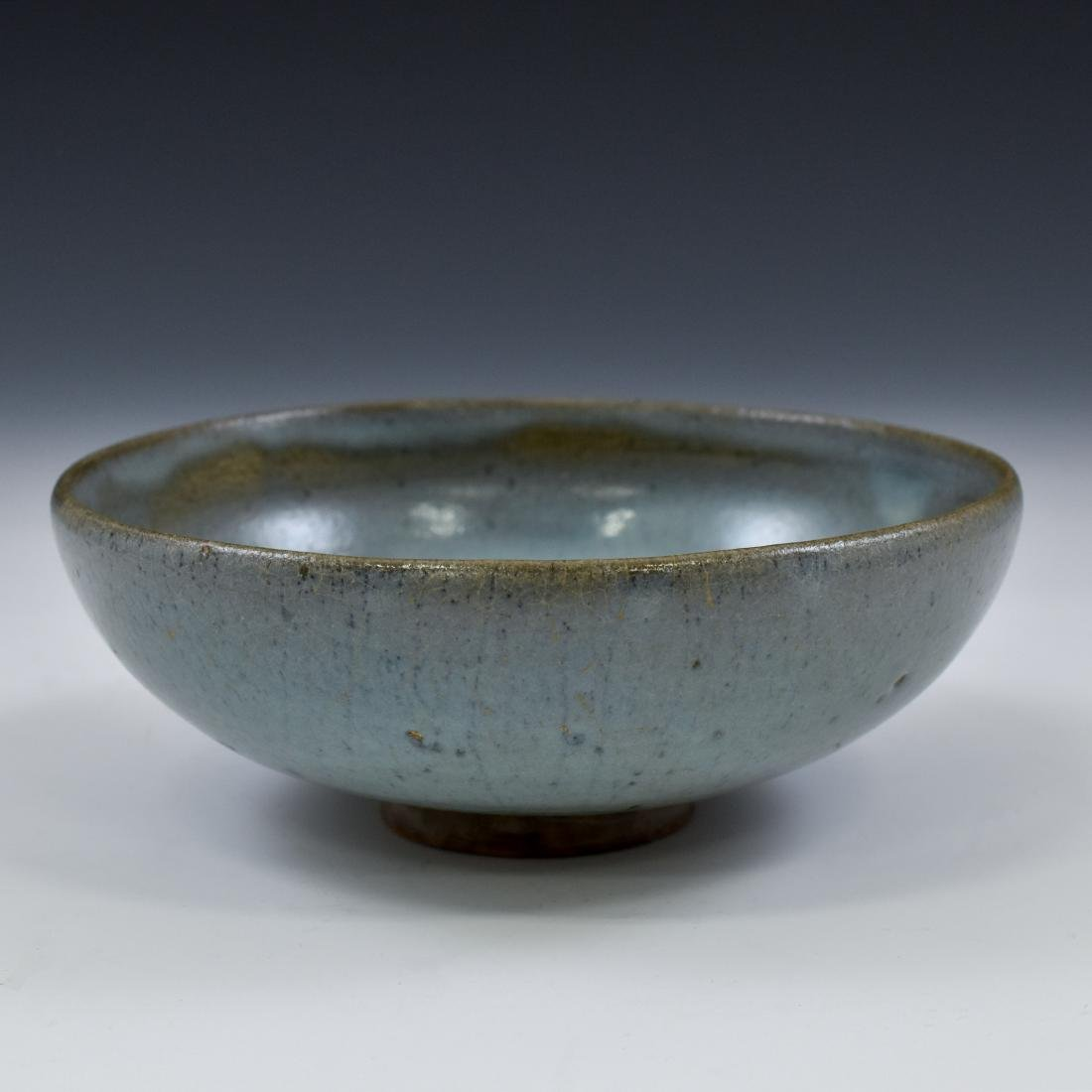 YUAN DYNASTY JUN WARE TEA BOWL - 7
