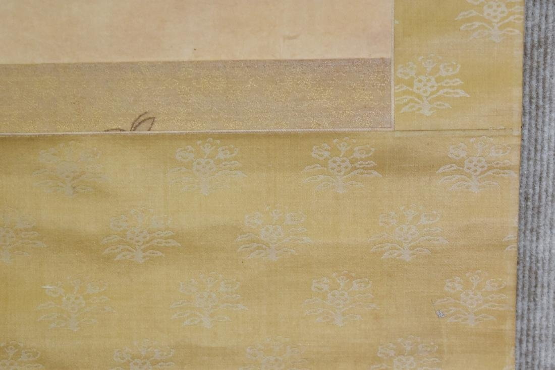 CHINESE PAINTING SCROLL OF BAMBOO - 5
