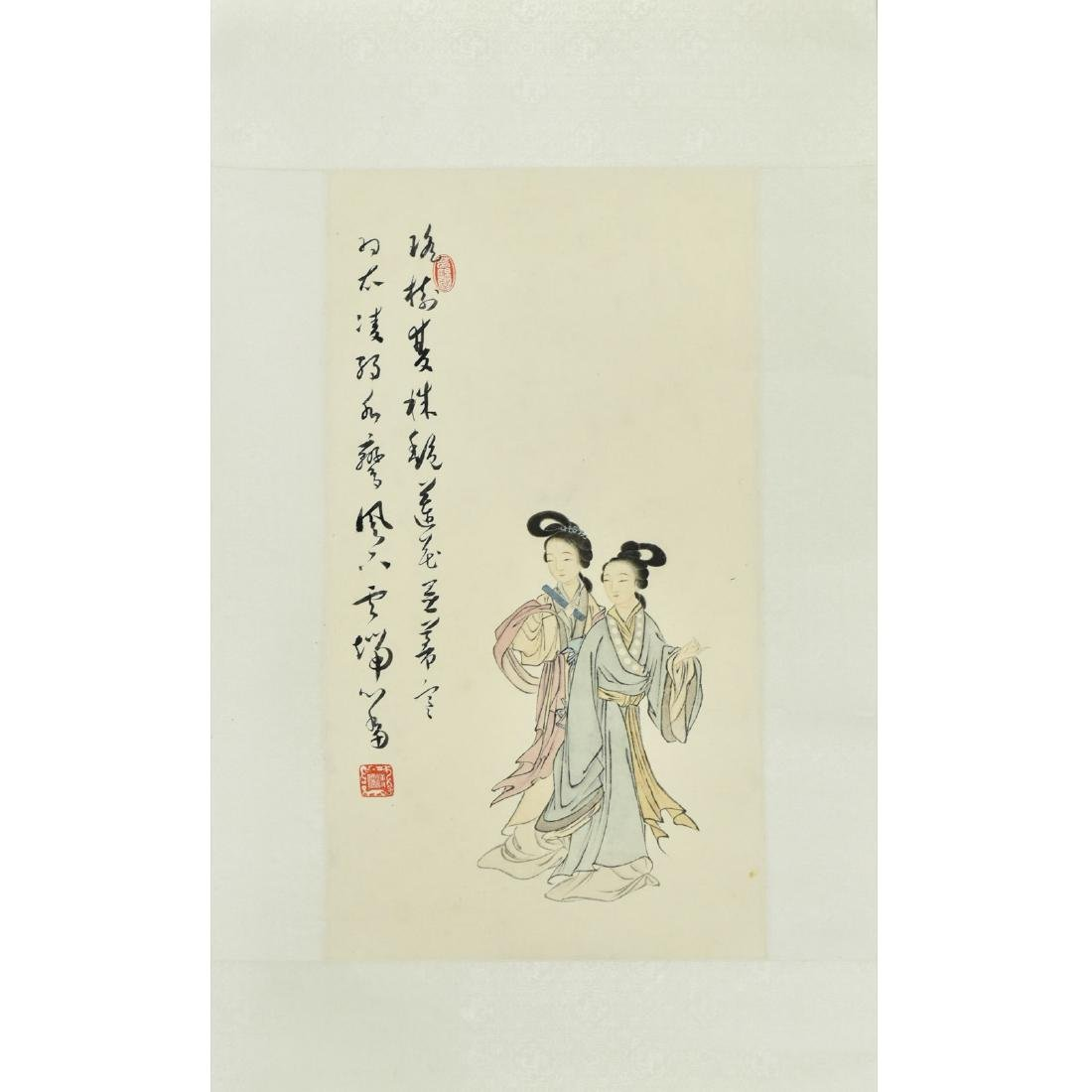 CHINESE PAINTING OF LADIES