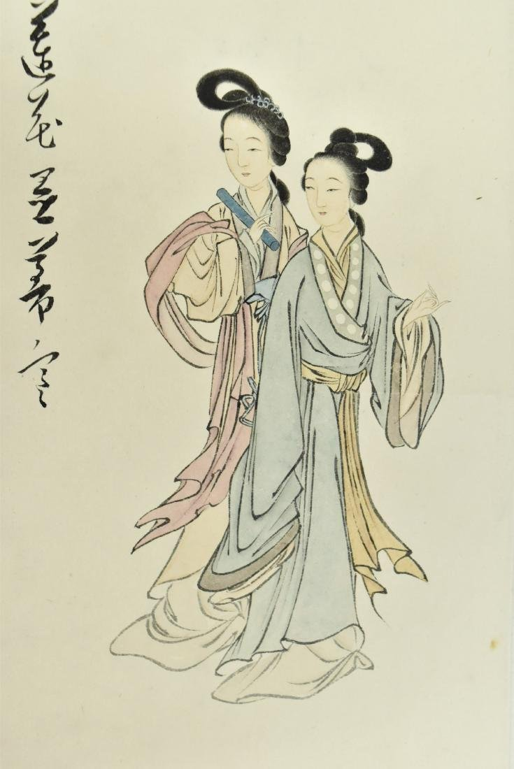 CHINESE PAINTING OF LADIES - 2