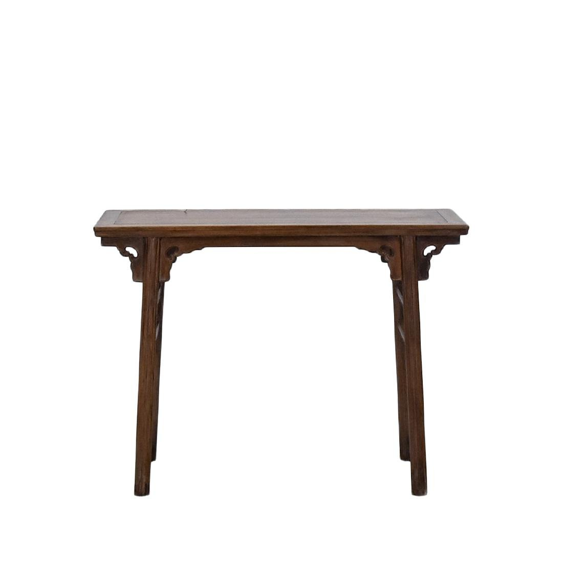 18TH C CHINESE HUANGHUALI ALTAR TABLE