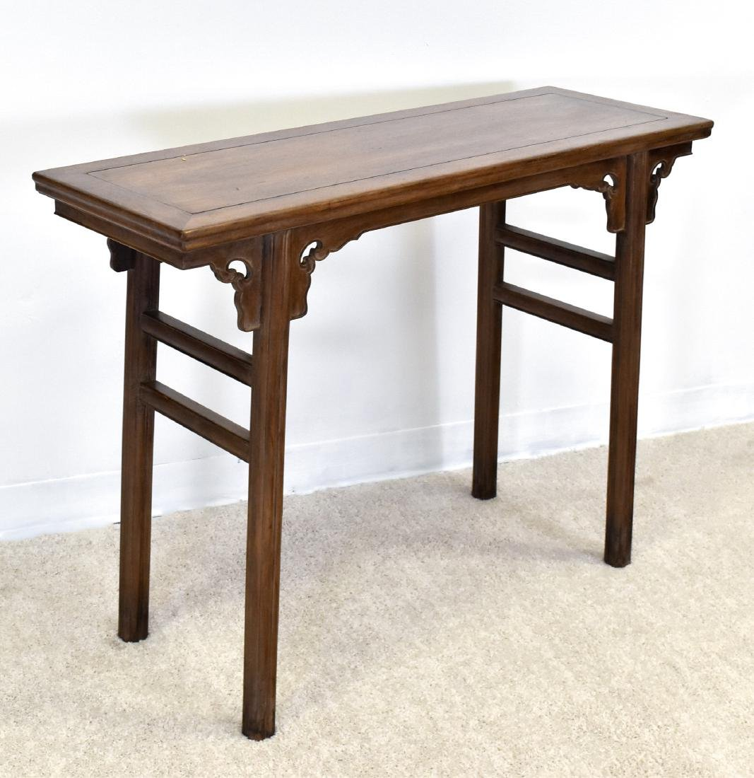 18TH C CHINESE HUANGHUALI ALTAR TABLE - 3
