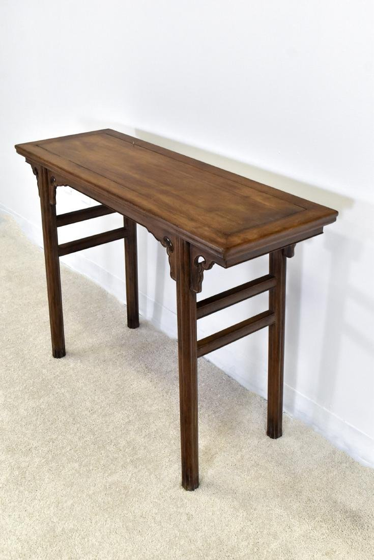 18TH C CHINESE HUANGHUALI ALTAR TABLE - 4