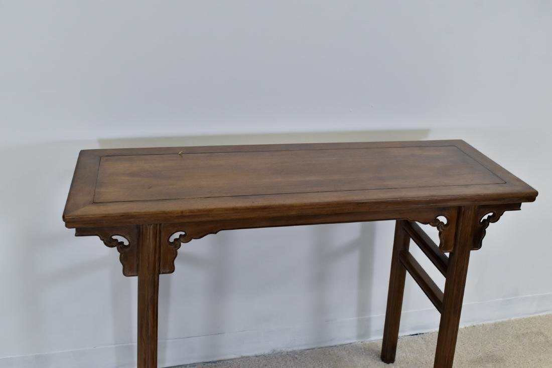 18TH C CHINESE HUANGHUALI ALTAR TABLE - 5