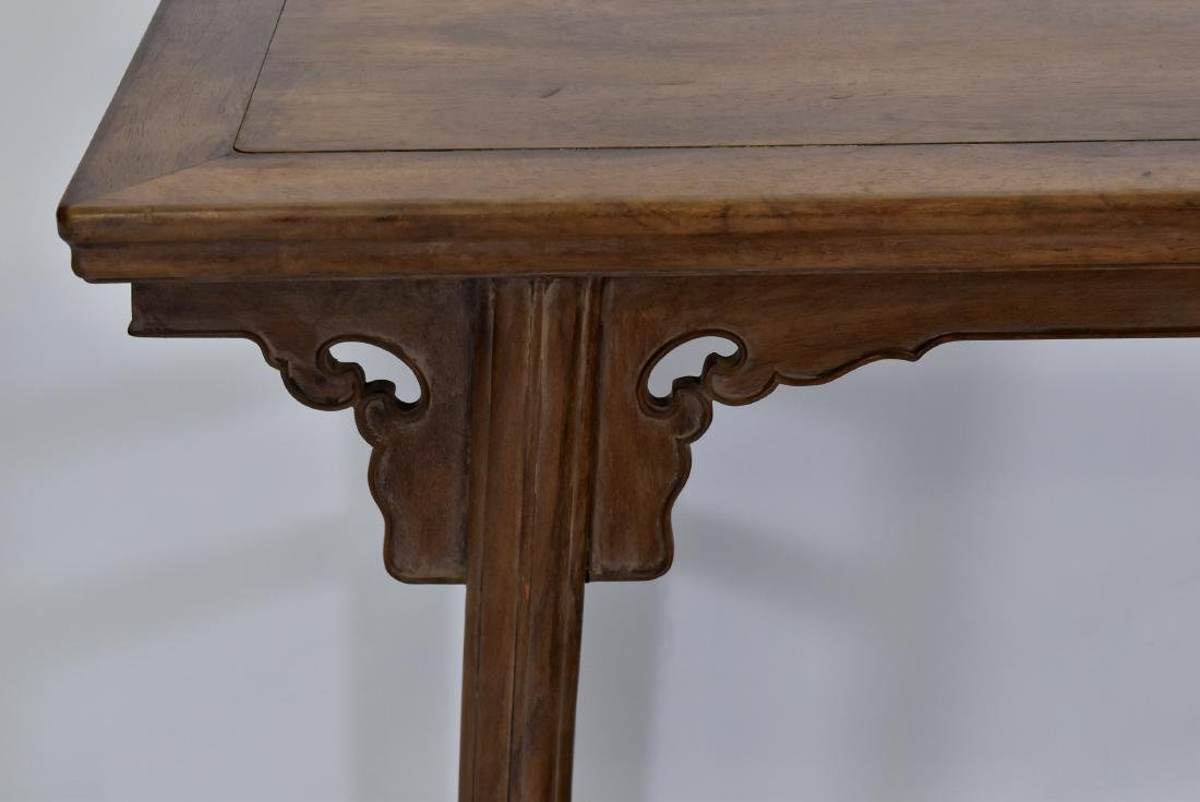 18TH C CHINESE HUANGHUALI ALTAR TABLE - 6