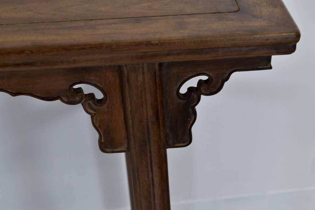 18TH C CHINESE HUANGHUALI ALTAR TABLE - 7