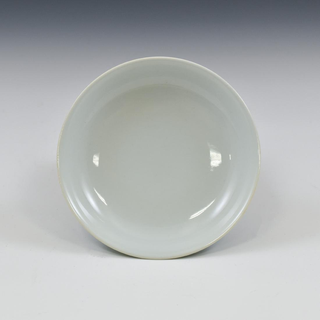 CHINESE QING DOUQING PORCELAIN PLATE - 2
