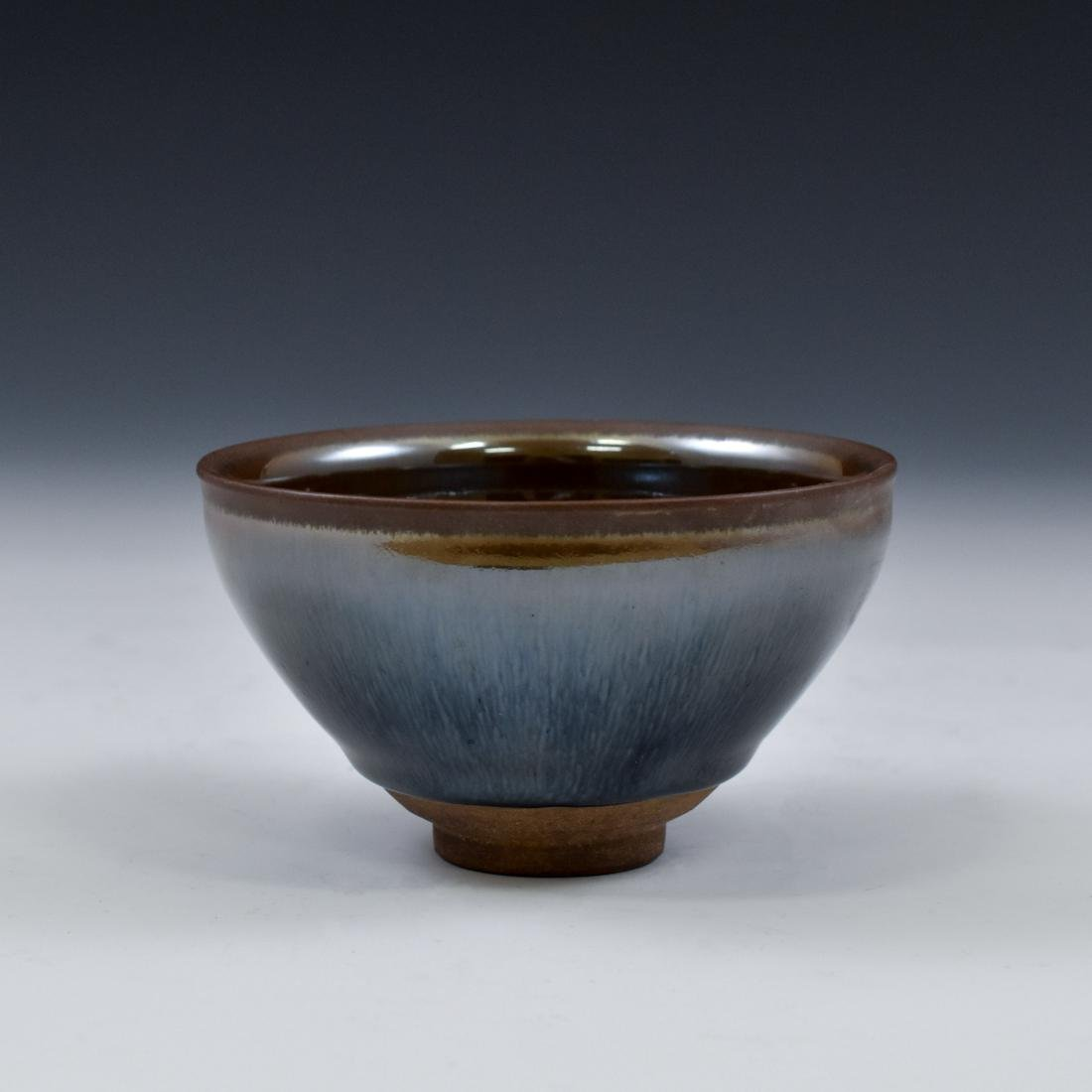 CHINESE JIAN WARE 'HARE FUR' TEA BOWL - 10
