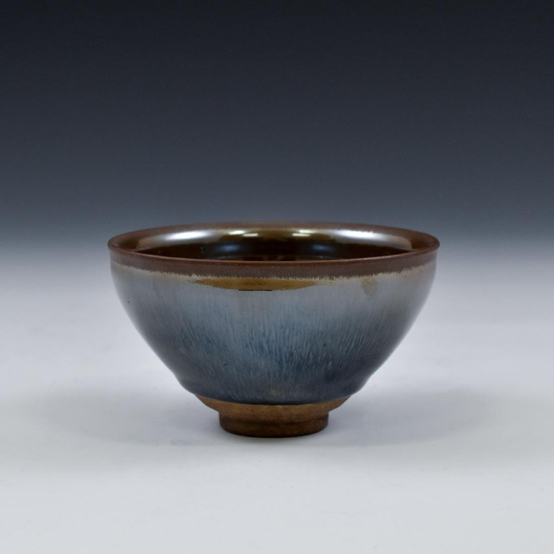 CHINESE JIAN WARE 'HARE FUR' TEA BOWL - 11