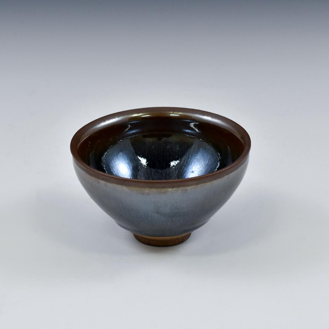 CHINESE JIAN WARE 'HARE FUR' TEA BOWL - 2