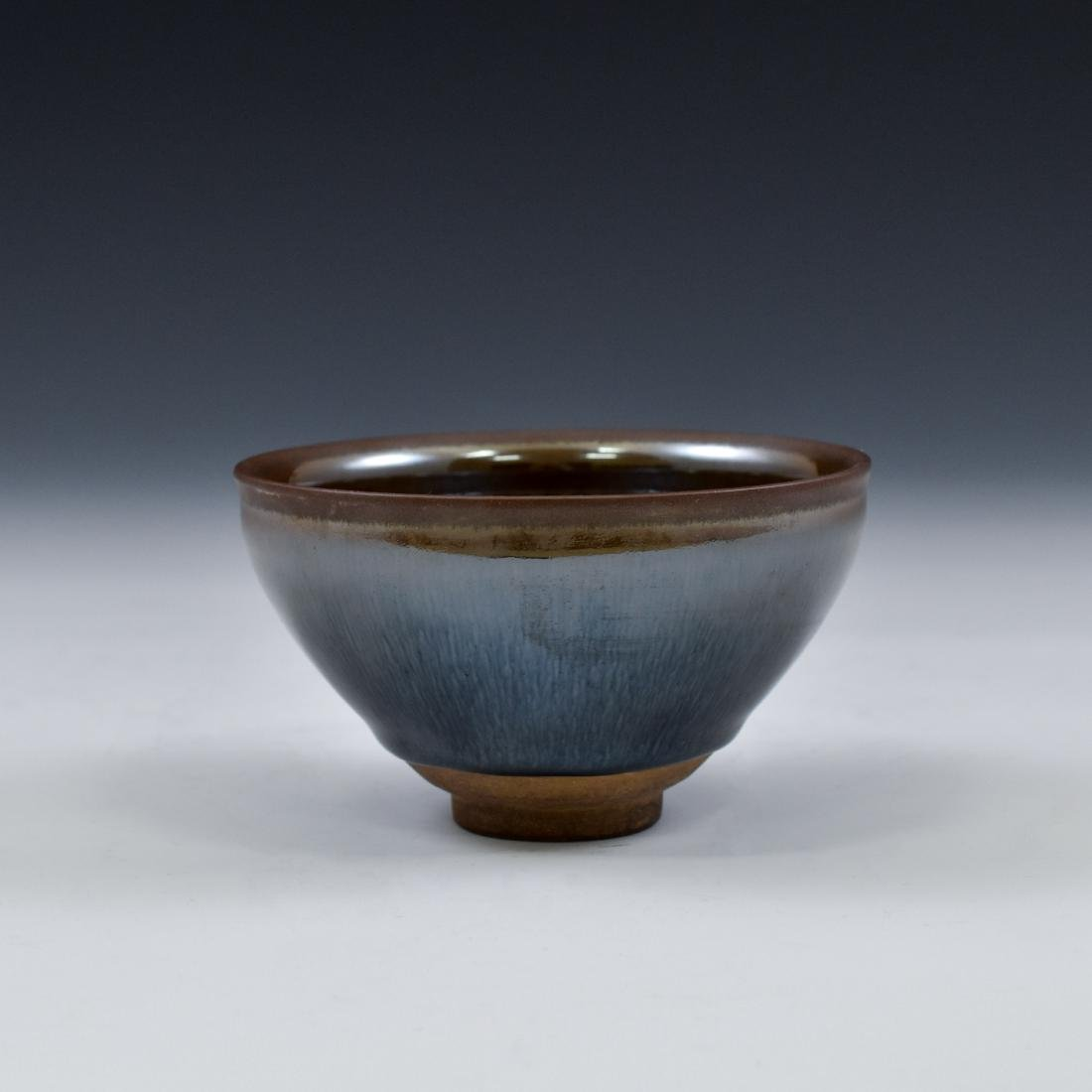 CHINESE JIAN WARE 'HARE FUR' TEA BOWL - 9