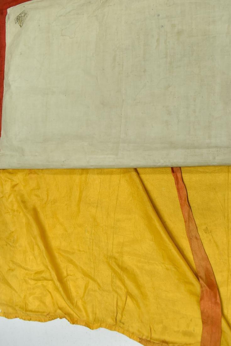 19TH C THANGKA OF SHAKYAMUNI BUDDHA & 16 ARHATS - 10