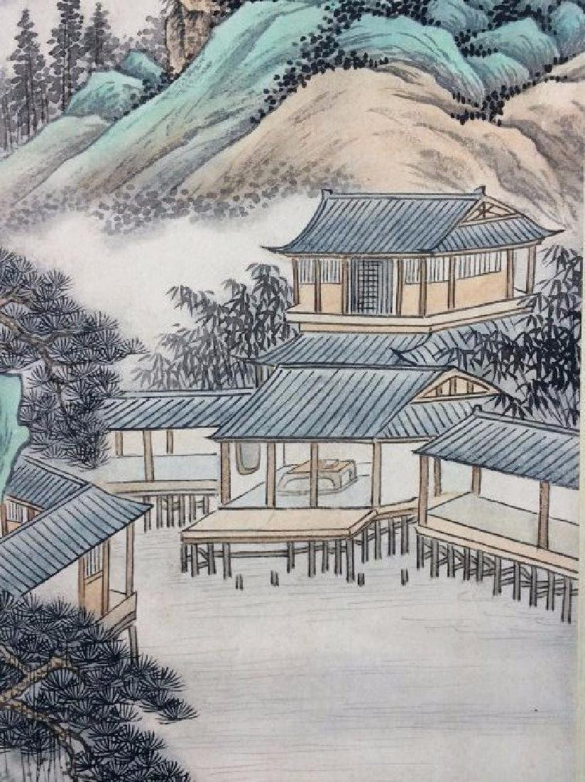 A CHINESE WATERCOLOR SCROLL PAINTING - 5