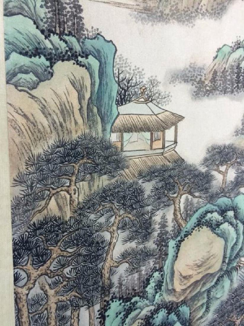 A CHINESE WATERCOLOR SCROLL PAINTING - 6