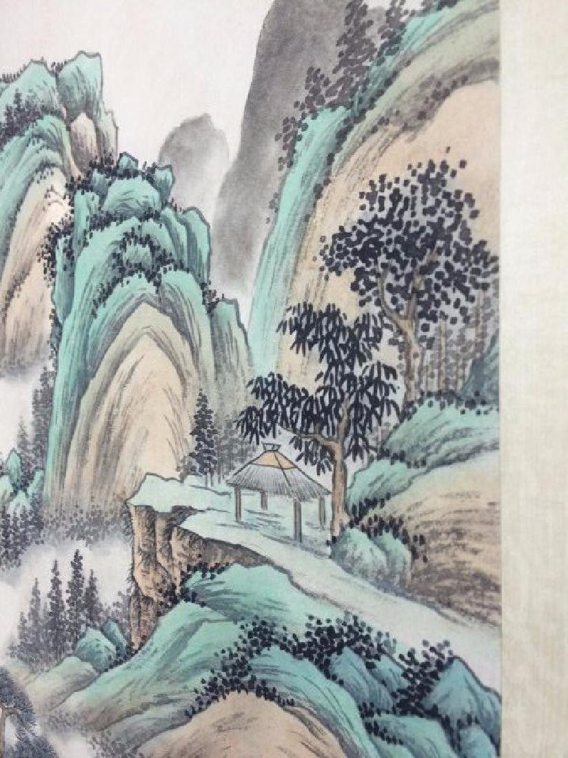 A CHINESE WATERCOLOR SCROLL PAINTING - 7