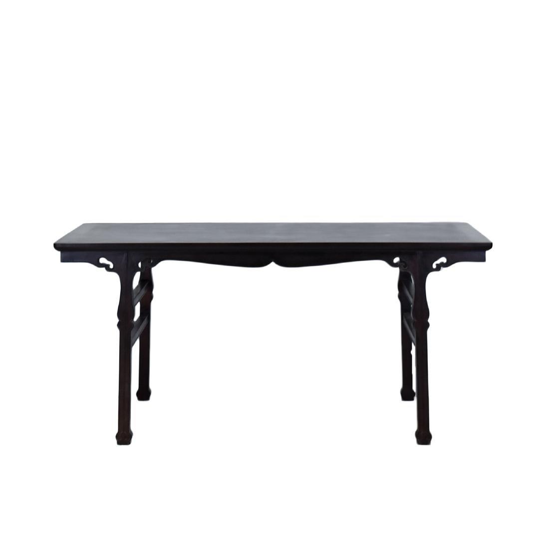 19TH C FINE ZITAN ALTAR TABLE, DIAO'AN