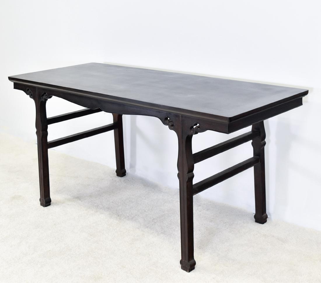 19TH C FINE ZITAN ALTAR TABLE, DIAO'AN - 2