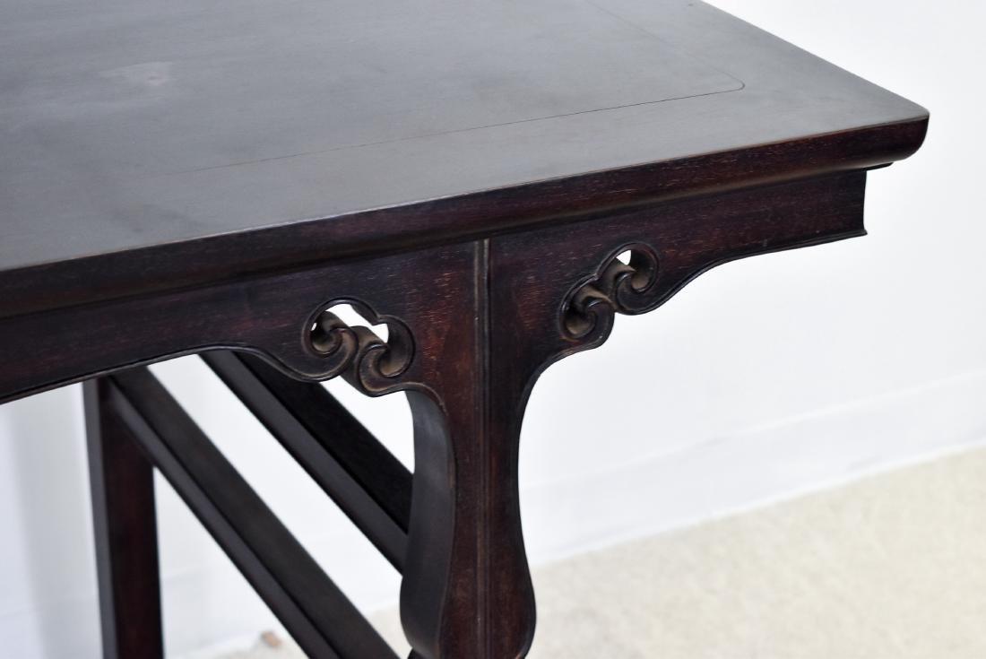 19TH C FINE ZITAN ALTAR TABLE, DIAO'AN - 8