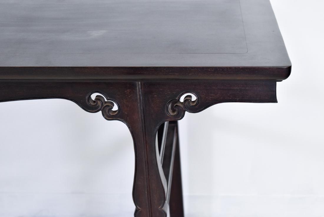 19TH C FINE ZITAN ALTAR TABLE, DIAO'AN - 9