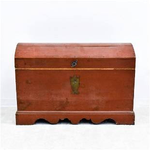 RED DOME DOWERY PINE CHEST