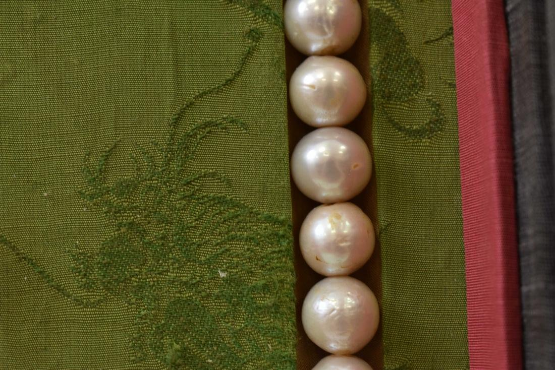 PEARL CHAOZHU COURT NECKLACE IN BOX - 7