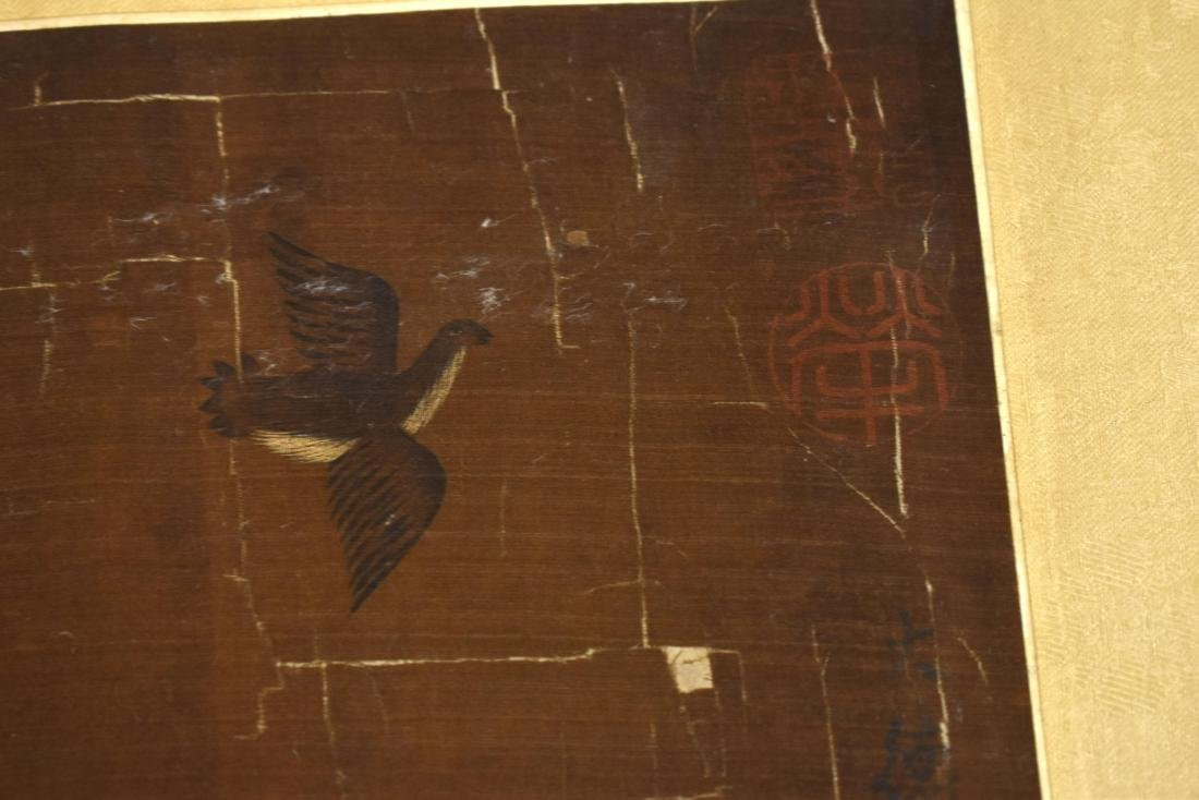 QING DYNASTY PAINTING OF HORSE RIDING WARRIOR - 4