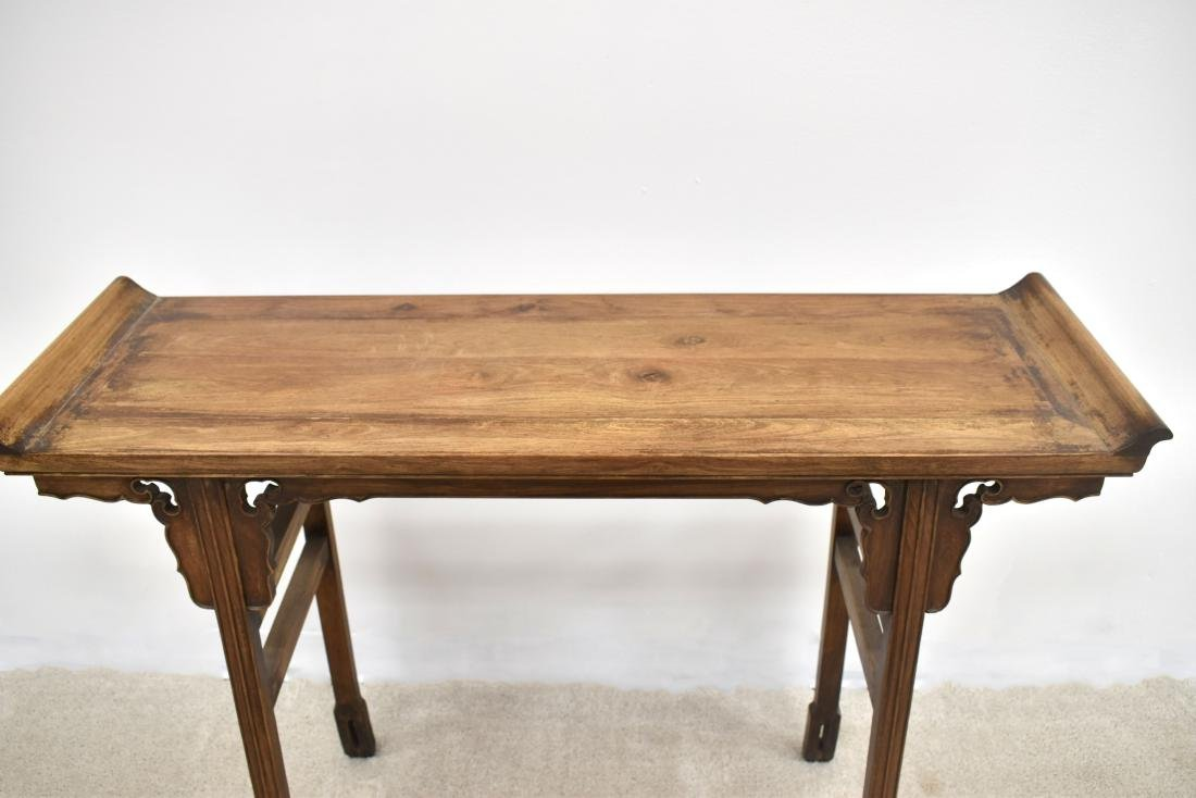 18/19TH C CHINESE ANTIQUE HUANGHUALI ALTAR TABLE - 2