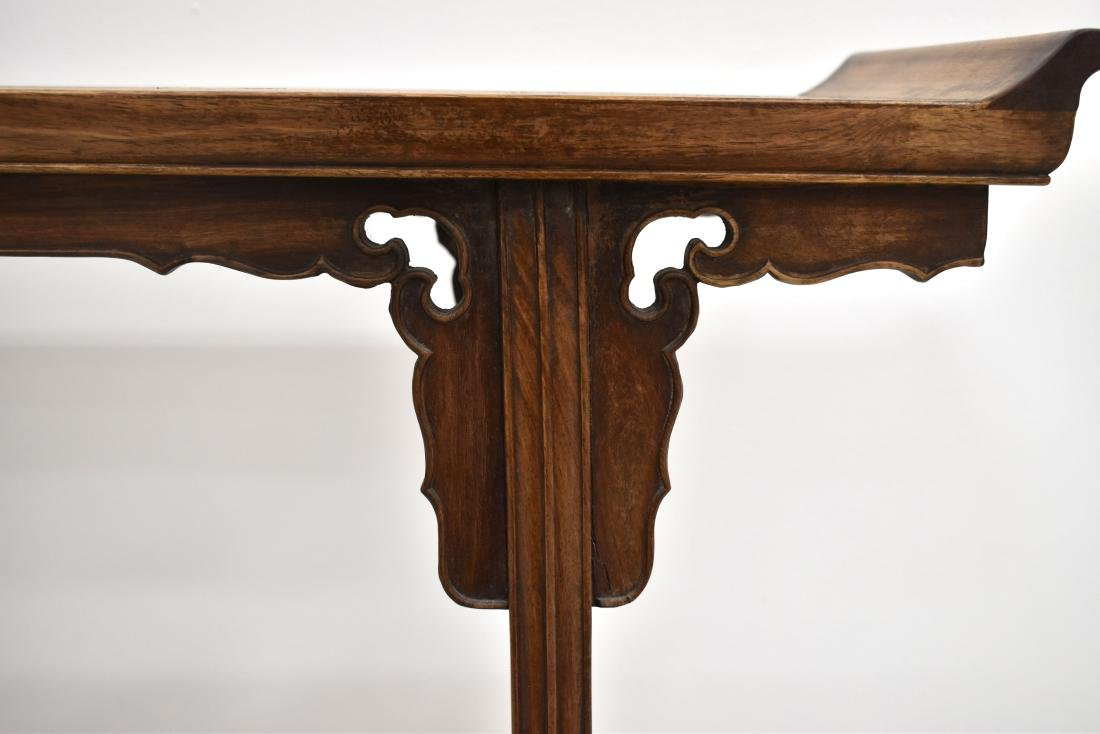 18/19TH C CHINESE ANTIQUE HUANGHUALI ALTAR TABLE - 7