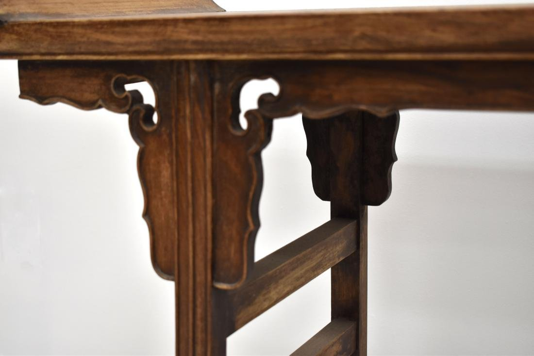 18/19TH C CHINESE ANTIQUE HUANGHUALI ALTAR TABLE - 8