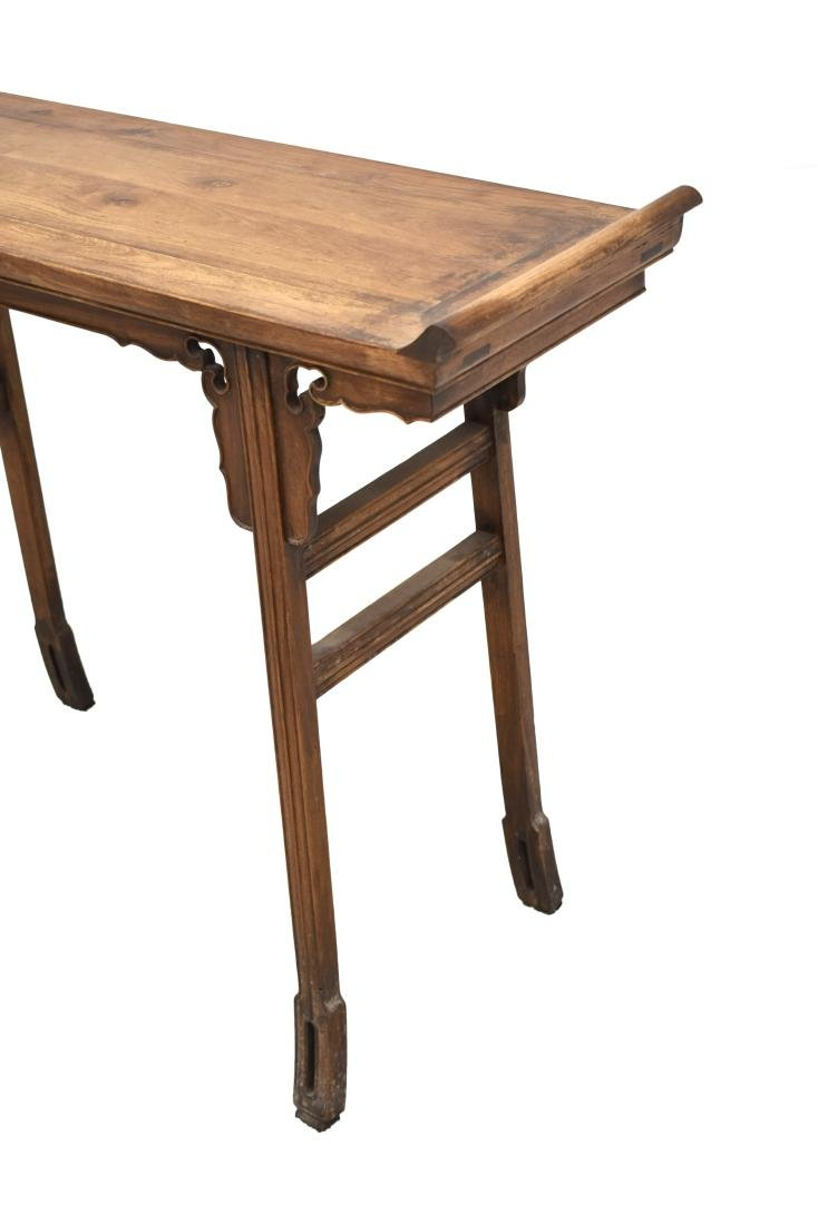 18/19TH C CHINESE ANTIQUE HUANGHUALI ALTAR TABLE - 9