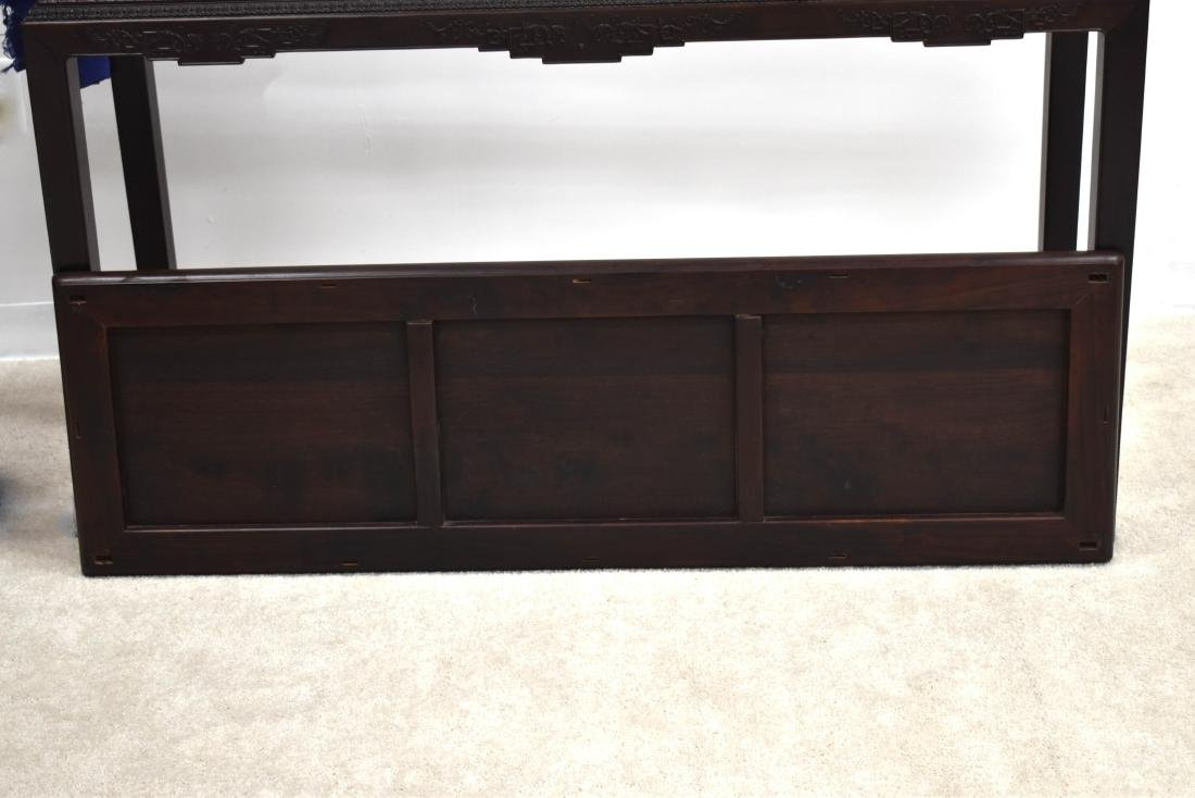 19TH C ZITAN WAITED PAINTING TABLE - 10