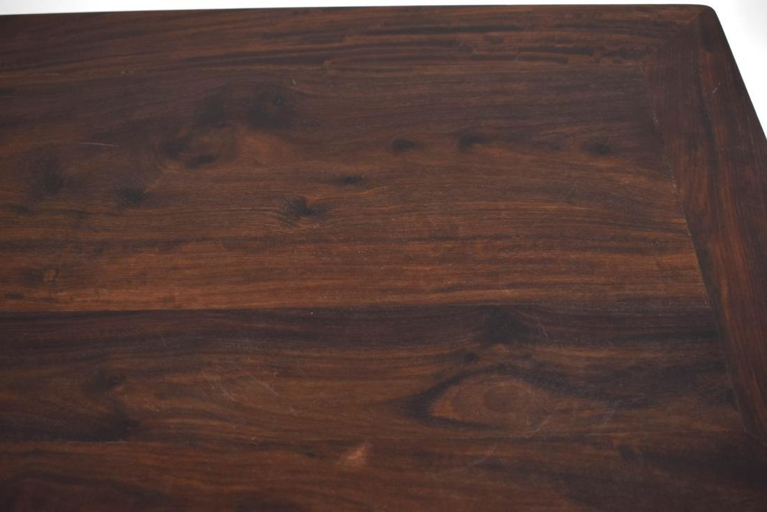 19TH C ZITAN WAITED PAINTING TABLE - 6