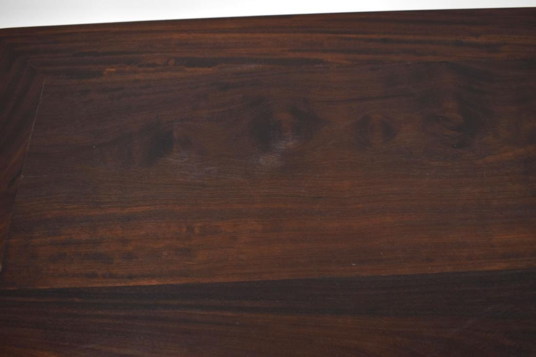 19TH C ZITAN WAITED PAINTING TABLE - 8
