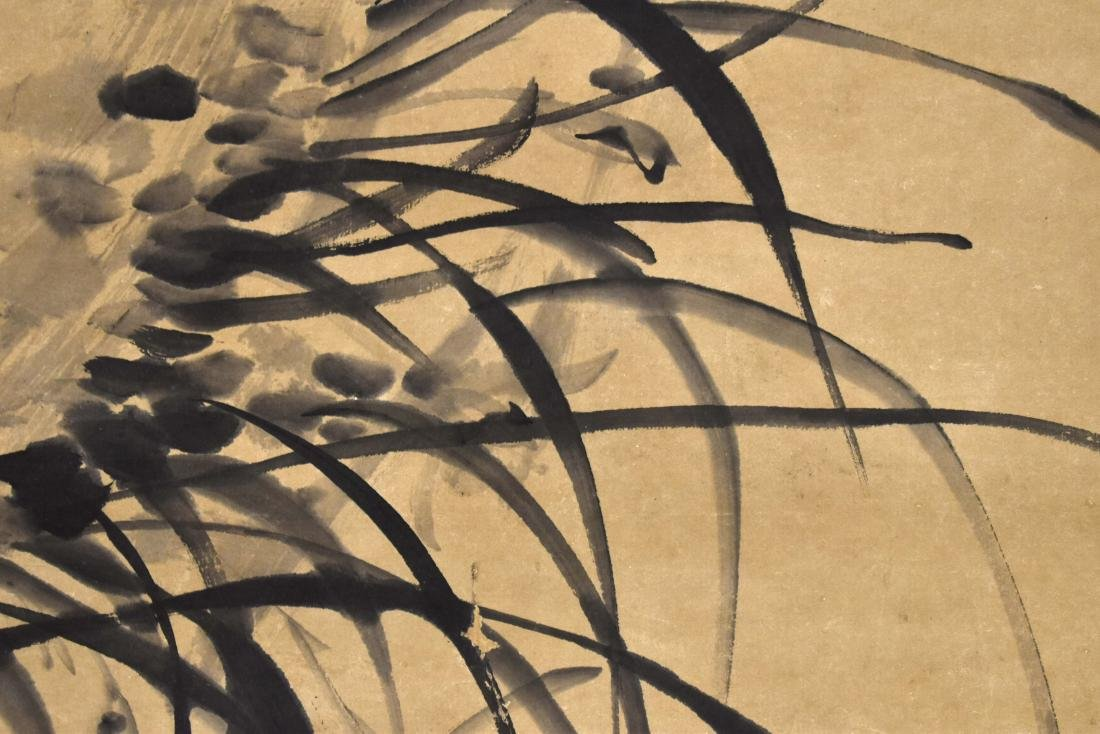 CHINESE SCROLL PAINTING OF BAMBOO SHOOTS - 5