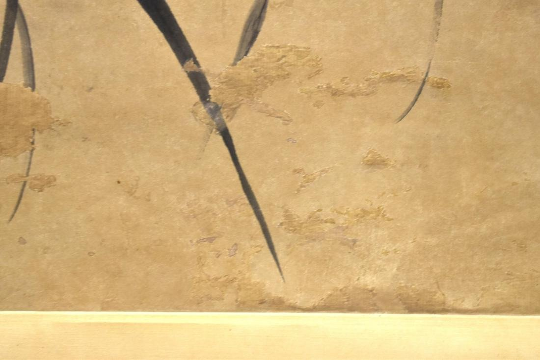 CHINESE SCROLL PAINTING OF BAMBOO SHOOTS - 7