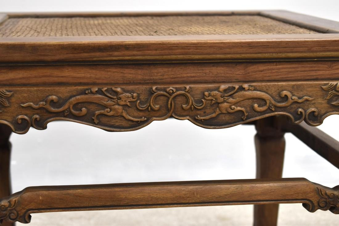 18/19TH C PAIR CHINESE HUANGHUALI LOW CHAIRS - 5
