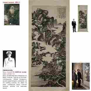 1948 ZHANG DAQIAN 張大千 WATERSIDE