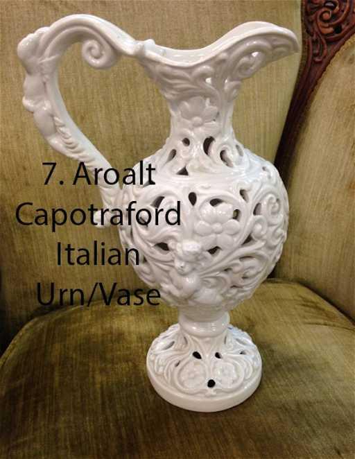 Ardalt Capo Traforo Italian Urnvase 5800
