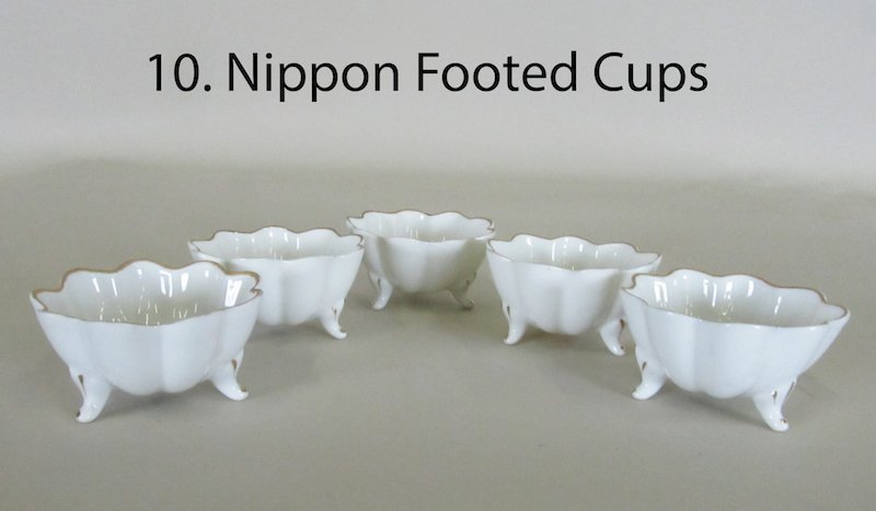 Nippon Footed Cups