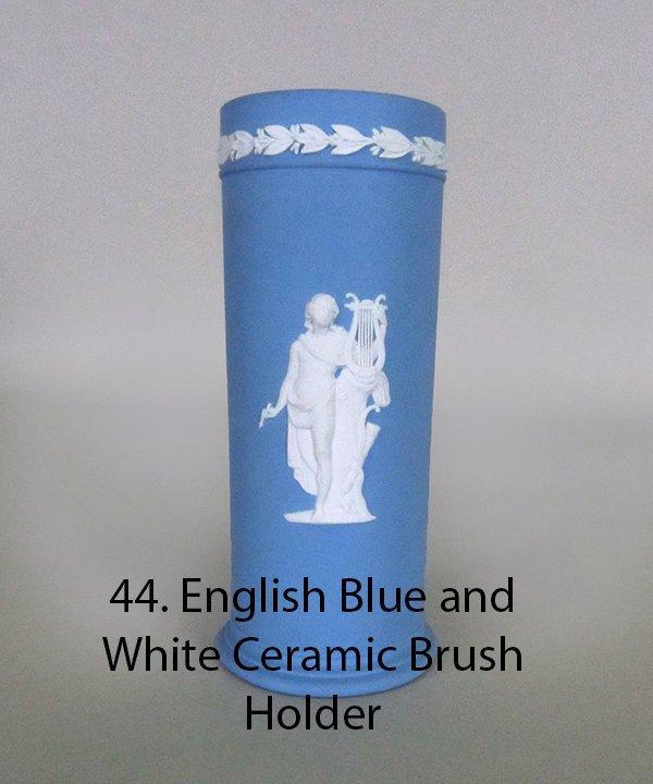 WEDGEWOOD  Jasperware Blue and White