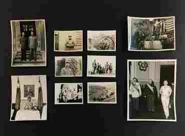 GROUP OF PRES. CHIANG KAI-SHEK DOCUMENTARY PHOTOS
