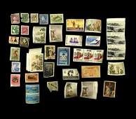 COLLECTION OF MIXED FOREIGN STAMPS
