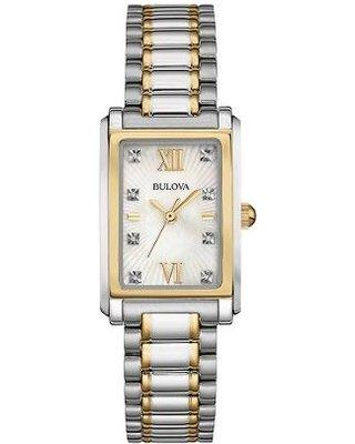Bulova Ladies Diamond Dial Bracelet