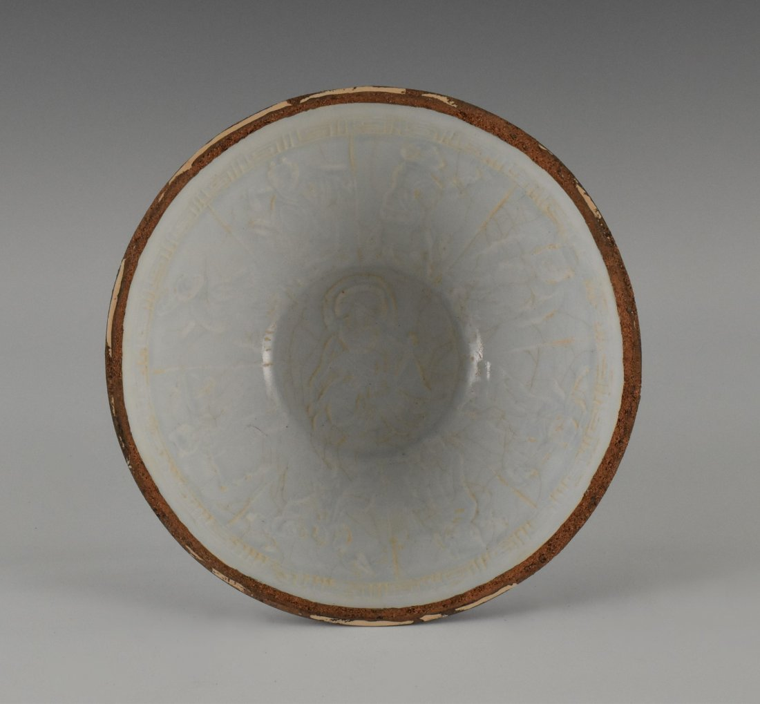 CHINESE HUTIAN PORCELAIN BOWL - 7