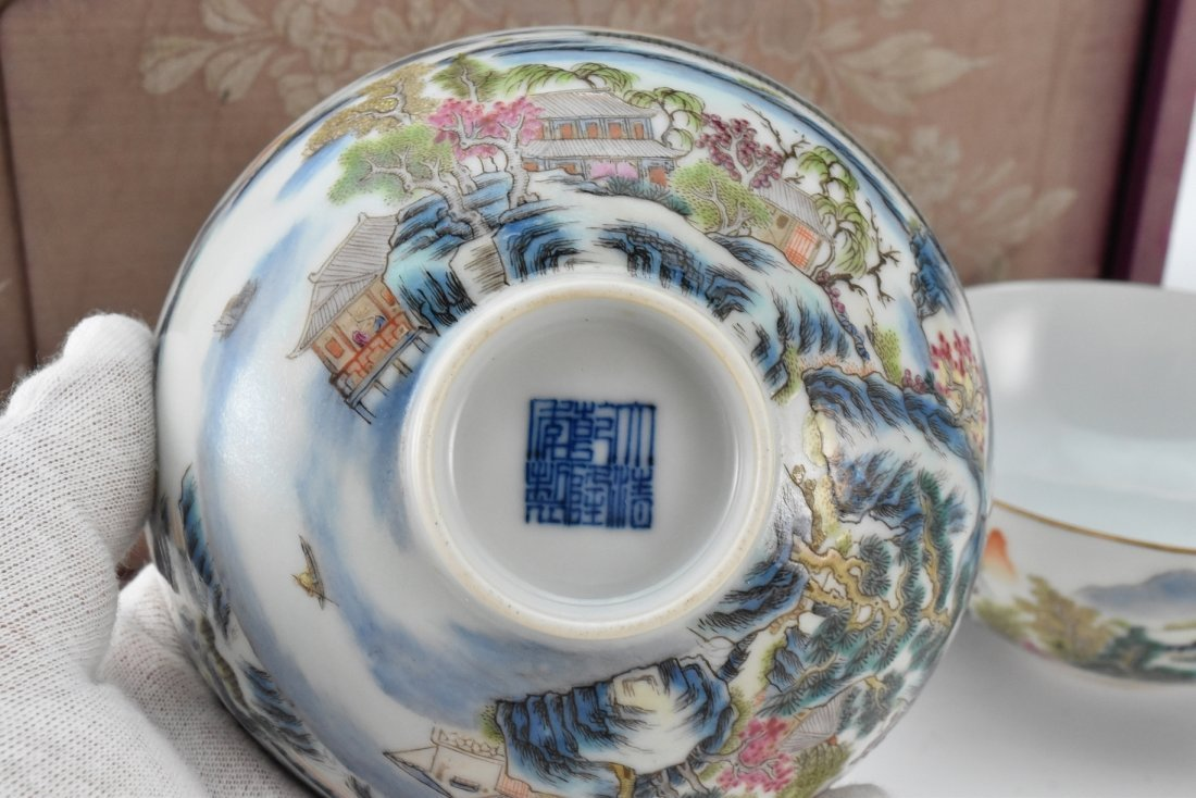 PAIR OF PORCELAIN BOWL IN ORIGINAL BOX - 5