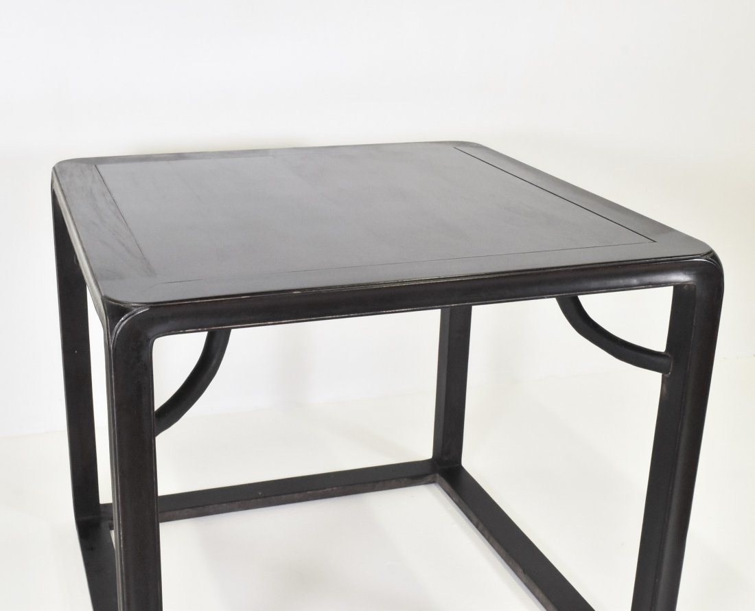 ANTIQUE ZITAN CHINESE SQUARE TABLE - 3
